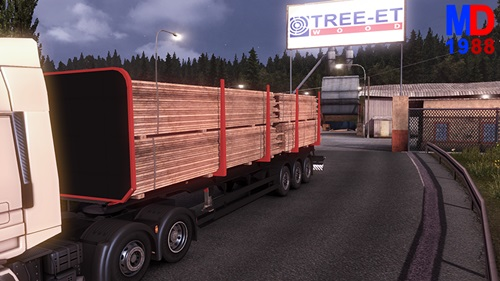 Log-Modified-Transport-Trailer