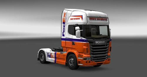 Scania-FedEx-Express-Skin-1