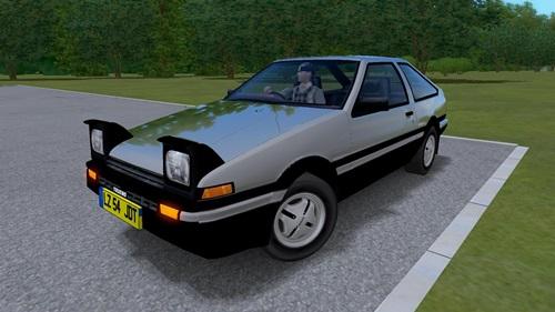 Toyota Corolla Trueno AE863