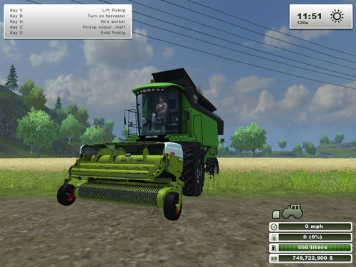 Claas PickUp 300 Cutter
