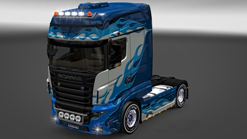Scania-R-700-Blue-Flame-Skin-1