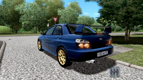 City Car Driving Subaru Impreza