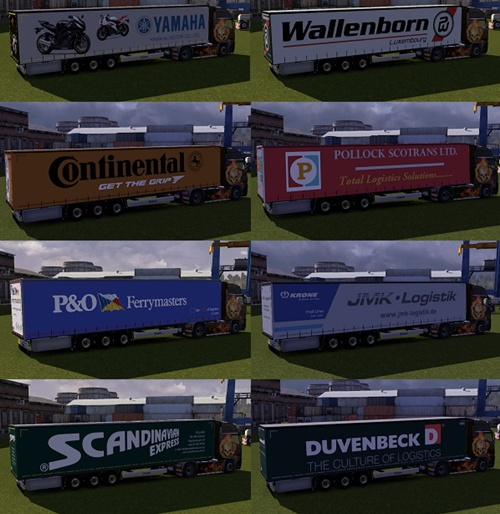 Trailers Krone Profiliner for ETS2 04