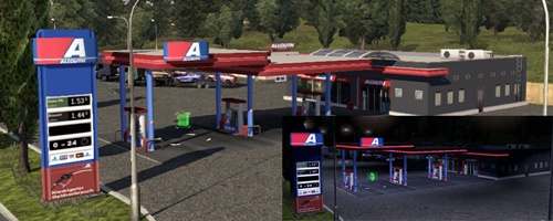 Gas Stations Release 04 Mod