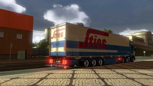 Chereau Sties Transport Trailer