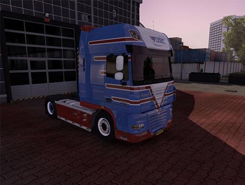 DAF XF 105.510 2 trucks