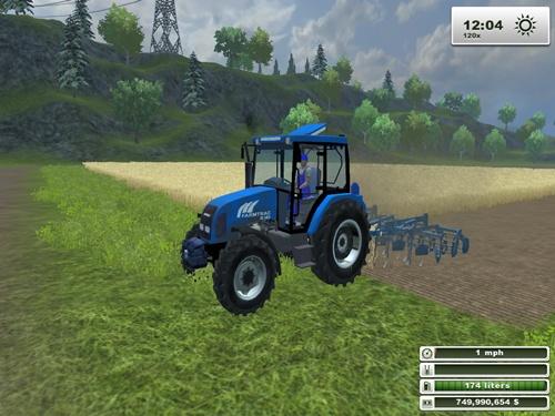 Farmtrac 80 4WD Tractor