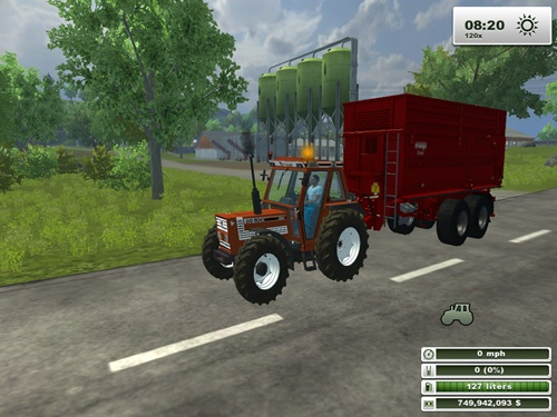Fiat Agri 110 90 DT Tractor