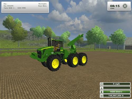 John deere 9630 Forestry Tractor