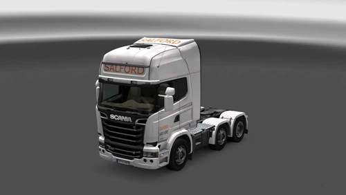 Scania Streamline Salford Van Hire Skin