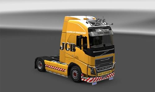 Volvo FH JCB Truck Skin
