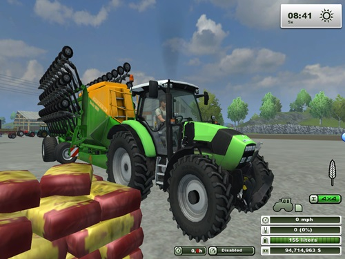 DeutzFahrAgrotron-K420