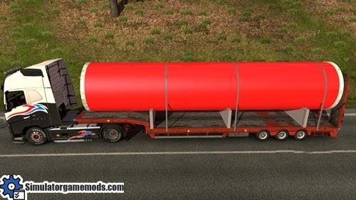 Metal-tube-cargo-trailer mod
