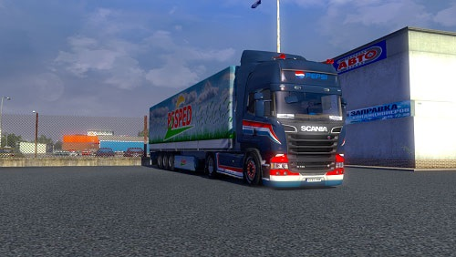 SCANIA STREAMLINE smallpaintjob