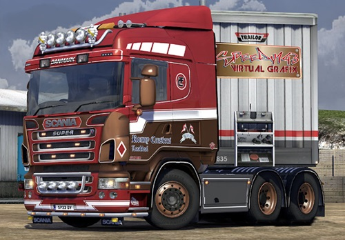 Scania 50k Ronny Ceusters