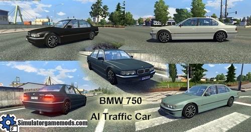 BMW 750 (E38) aIl Traffic Car