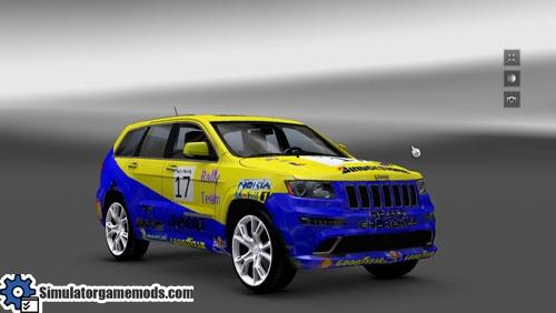 Jeep Grand Cherokee Rally Edition Skin