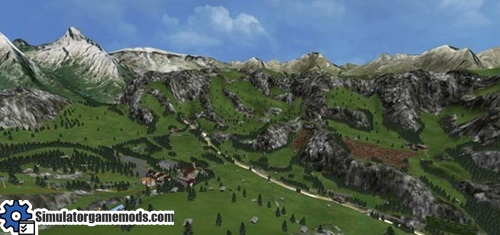 Tyrolean-Alps-Map
