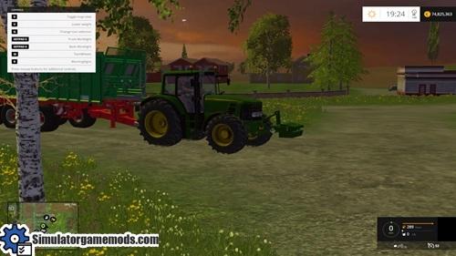 FS 2015 – John Deere 6830 Premium Dual Wheel Tractor