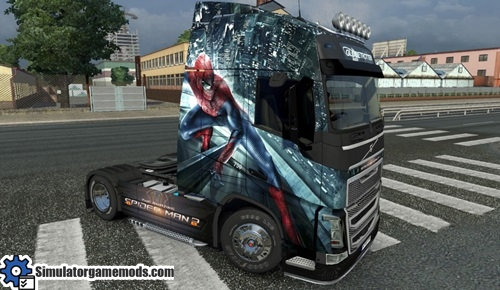 spiderman-truck-skin