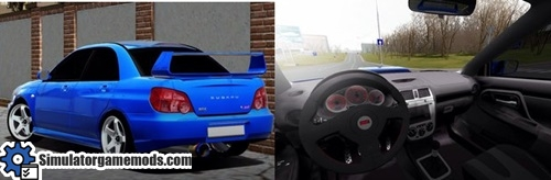 Subaru Impreza Wrx Sti 1 3 3 Simulator Games Mods Download