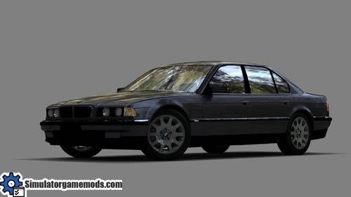 City Car Driving 1.4   BMW 750i E38 Car Download