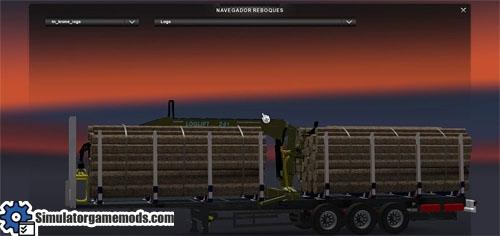 krone-log-trailer