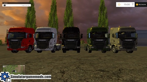 FS 2015   Scania R 730 Color Truck