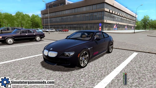 City Car Driving 1.4   BMW M6 E63 Car Download