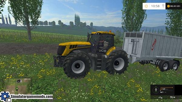 Game JCB rally tractor - Gamescom