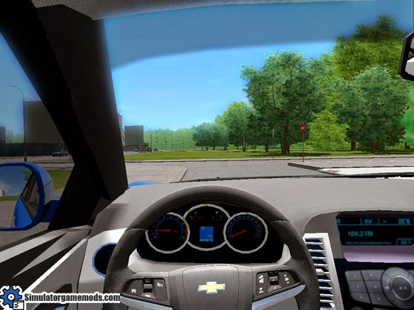 Car Credit Center >> City Car Driving 1.4 – Chevrolet Cruze Car Download – Simulator Games Mods Download