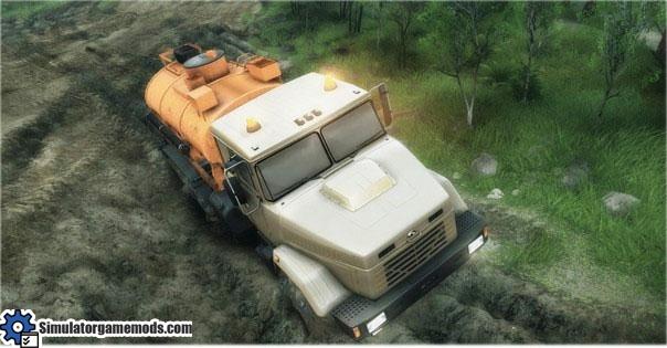 KRAZ-63221-Truck