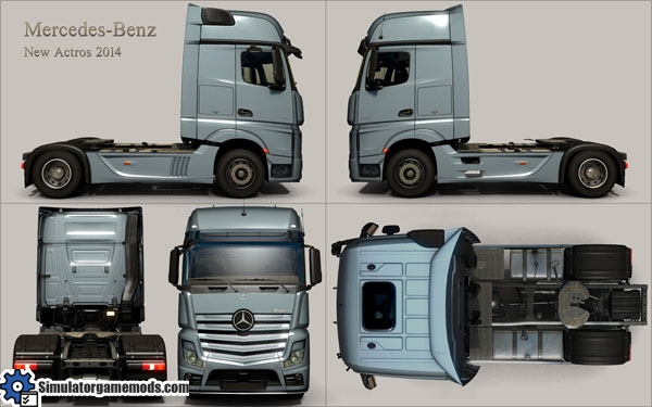 MB New Actros 2014 Exterior