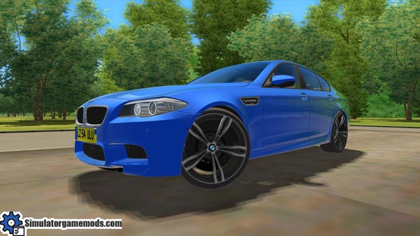City Car Driving 1 4 Bmw M5 F10 Car Download Simulator Games Mods Download