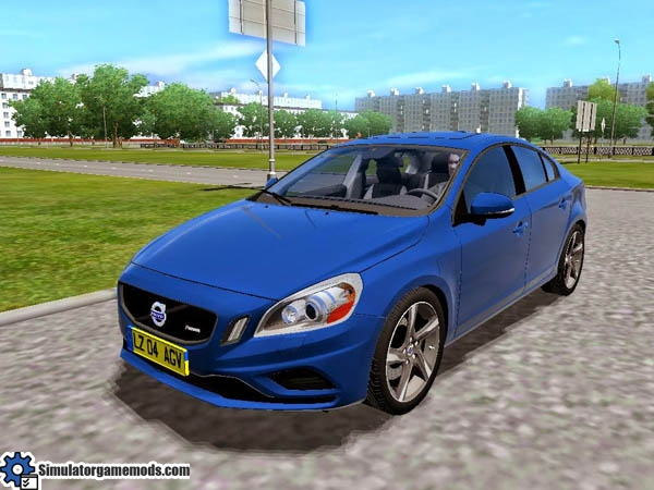City Car Driving 1 4 Volvo S60 2011 Car Download Simulator Games Mods Download