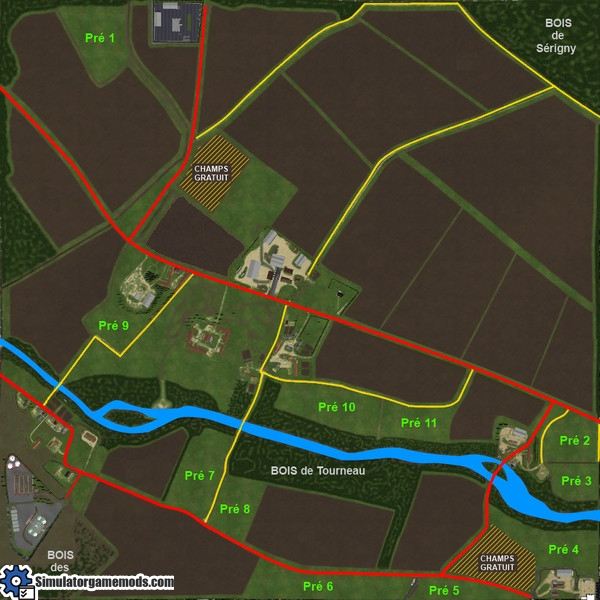 FS 2015  Grande Brenne Farm Map  Simulator Games Mods