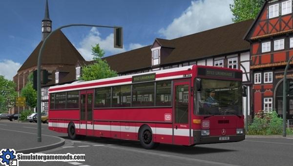 Omsi 2 Mercedes Benz O407 Bus Mod Simulator Games Mods