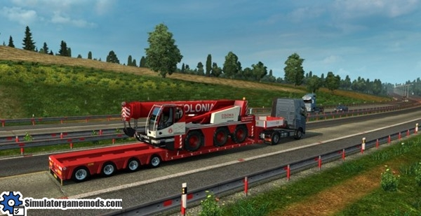 ets 2 liebherr ltm 1045 crane transport trailer simulator games mods download. Black Bedroom Furniture Sets. Home Design Ideas