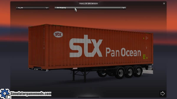 real skin container pack v2 for euro truck 2 simulator
