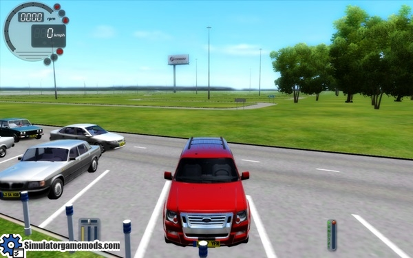 City Car Driving 1 4 1 Ford Explorer Car Download Simulator Games Mods Download
