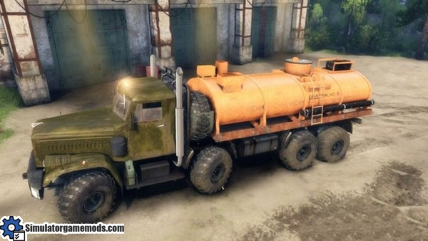 kraz-256-special-truck