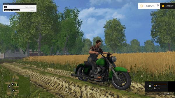 FS2015 Harley Davidson Motorcycle – Simulator Games Mods ...