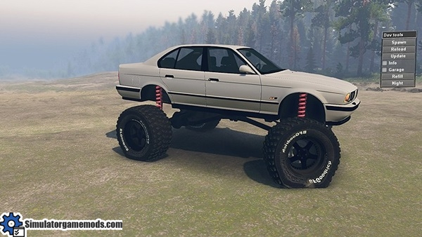 bmw-e34-bigfoot-car