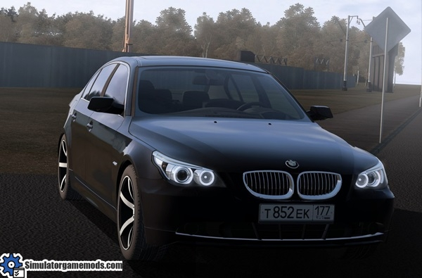 bmw e60 530xi city car driving 1 5 0 simulator games mods download. Black Bedroom Furniture Sets. Home Design Ideas