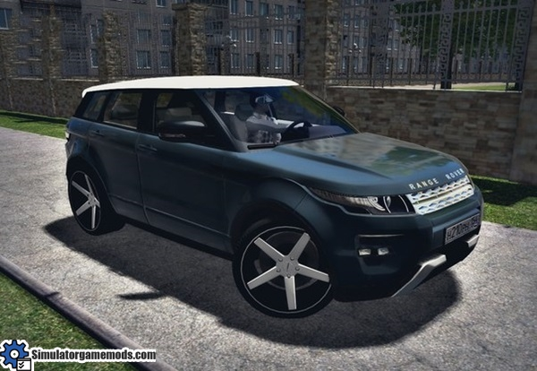 range rover evoque 2014 2 0 city car driving 1 5 0 simulator