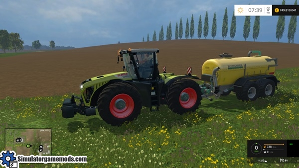 how to change hp tractor fs 15