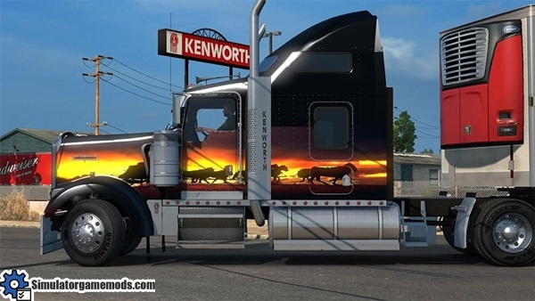 kenworth_w900_truck_sunset_skin