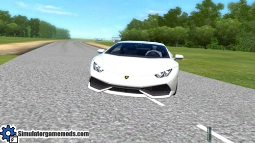 lamborghini huracan lp610 4 city car driving 1 5 0 simulator games mods download. Black Bedroom Furniture Sets. Home Design Ideas