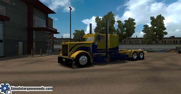 peterbilt-389-yellow-and-blue-skin