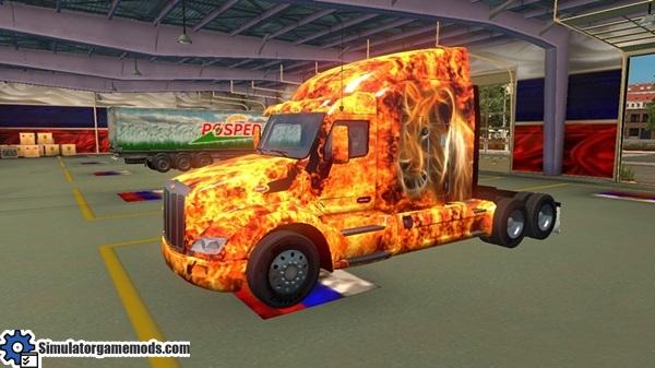 peterbilt-579-fire-cat-skin